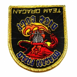 Customized iron glue embroidery patch