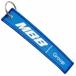 Large Remove Before Flight Embroidered Keychain