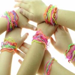 Silicone silly bands
