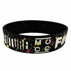Variety size silicone wristband