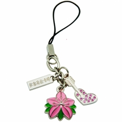 3D color resin cell Phone Straps and Charms