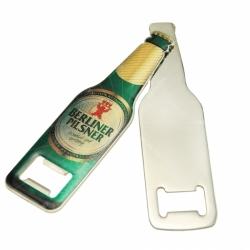 Bottle shaped bottle opener