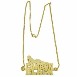 Zinc alloy metal necklace