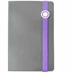 elastic strap with metal plaque